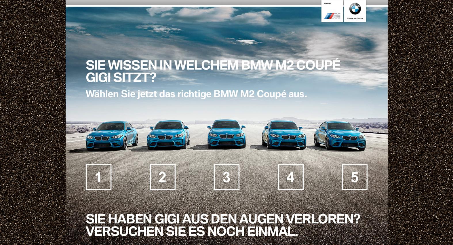 BMW Microsite
