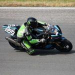 T3 Premium Fahrer beim Motorradrennen in Most (Tschechien)