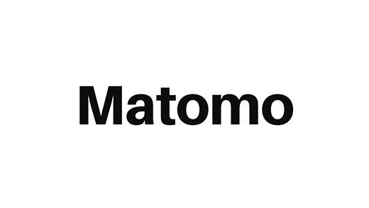 Matomo Logo weiß