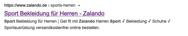Google Suchmaschinenergebnis Vorschau